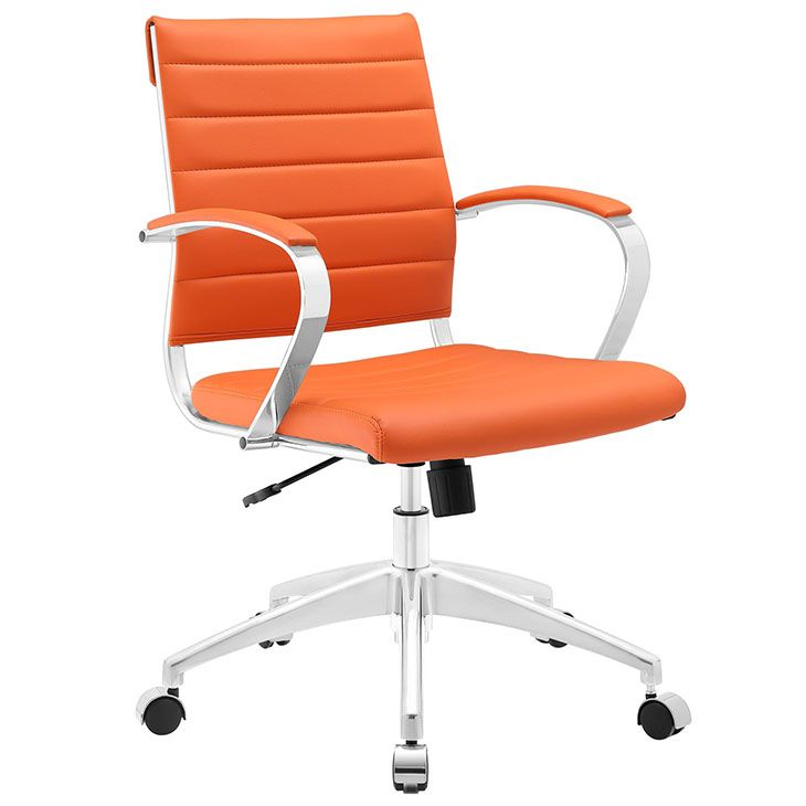 Modway Furniture Jive Highback Office Chair In Orange   Furniture Supply  Warehouse