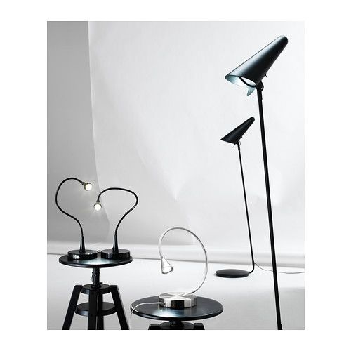 ikea stockholm led floor read lamp black ikea. Black Bedroom Furniture Sets. Home Design Ideas