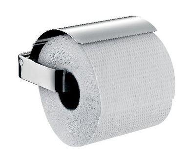 loft Toiletrolhouder met klep chroom | emco Bad