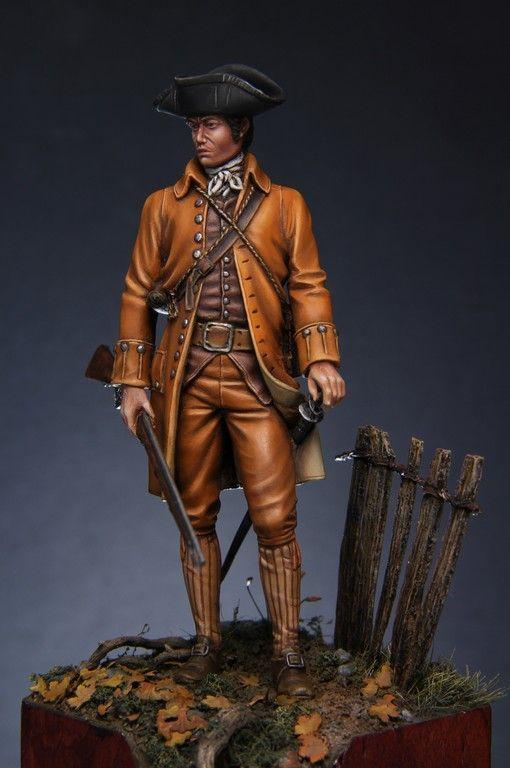 """Minuteman"" American Revolutionary War 1775 | planetFigure | Miniatures"