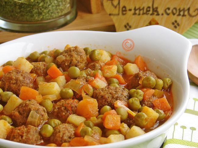 Sebzeli Köfte Tarifi (Resimli Anlatım) | Kolay ve Pratik Resimli Yemek Tarifleri | Göbeğim