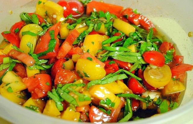 Missy's Marinated Tomatoes | My Blog! | Pinterest