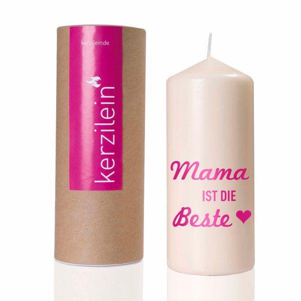 kerze_flamme_mama_is_die_beste_pink