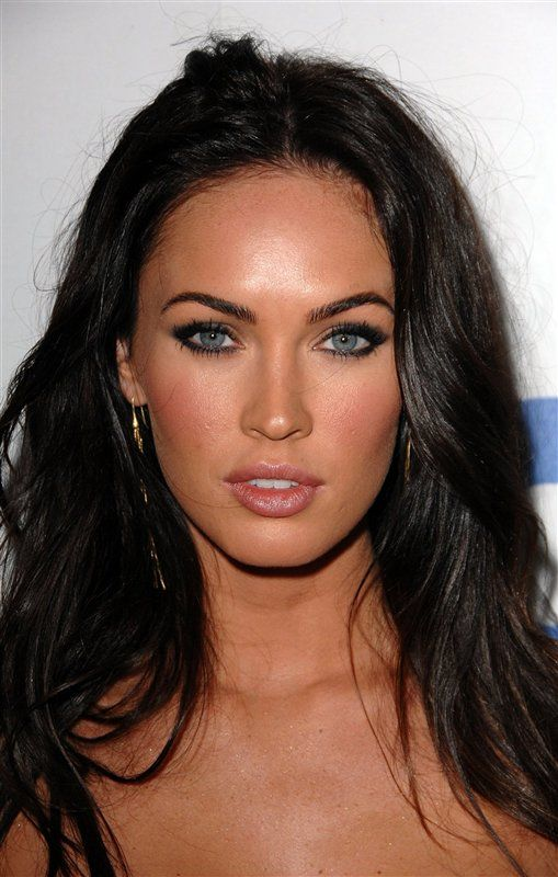 Megan Fox makeup. It helps that she has such a tan