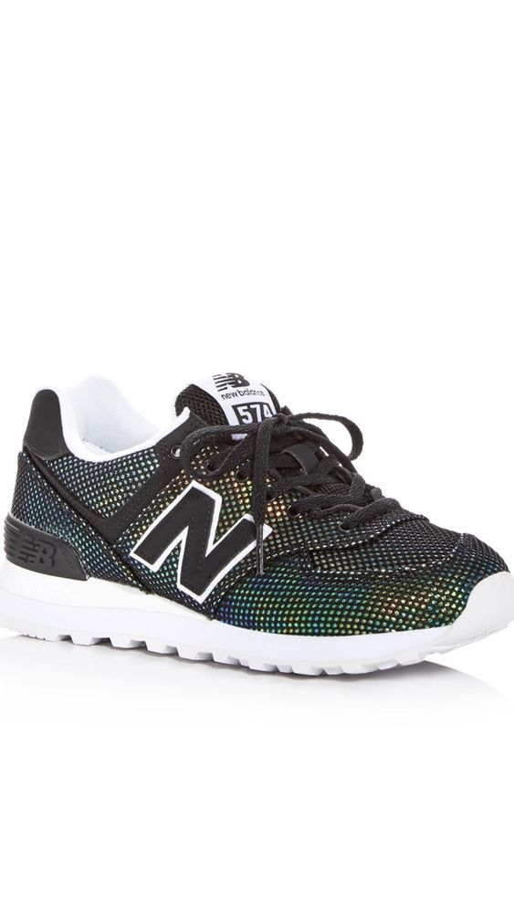 5ca03f874ffb New Balance Womens Mermaid 574 Classic Lace Up Sneakers Size 5.5 ...
