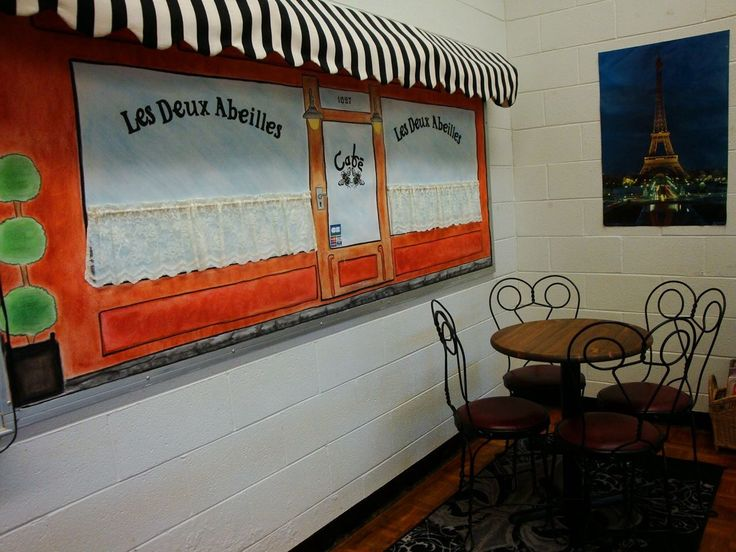 Café in my classroom - making Paris come to life!