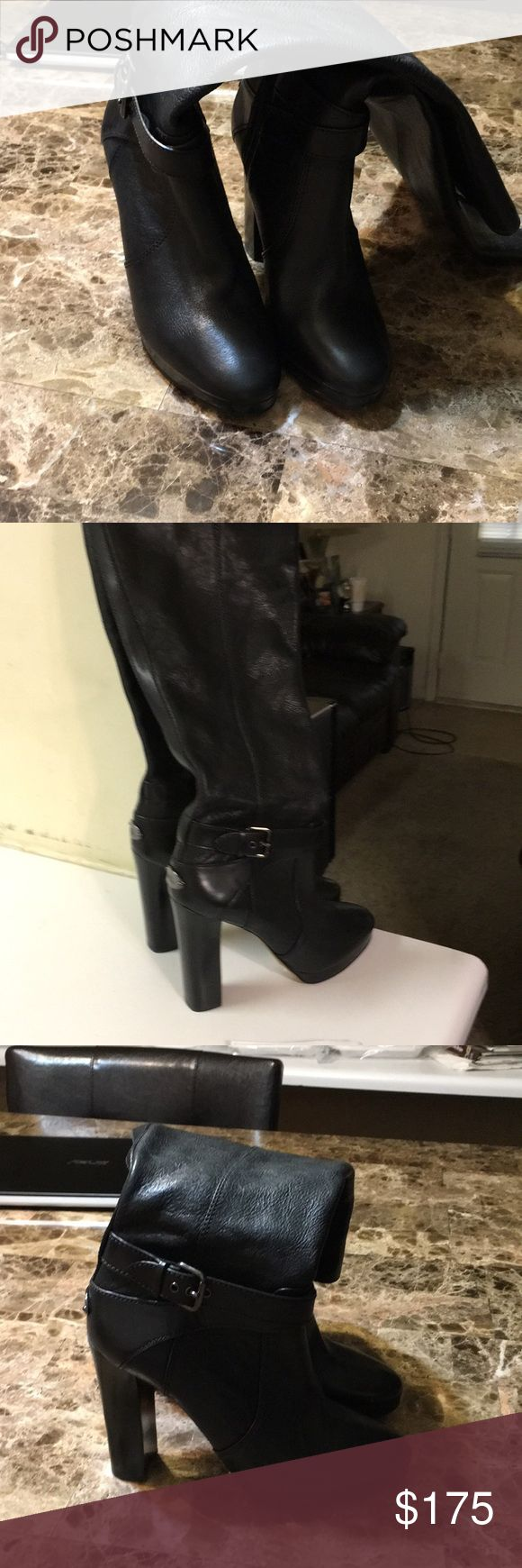 Coach Boots Tall black Coach Boots come to your knees. Never been worn. Just need a new home. Coach Other