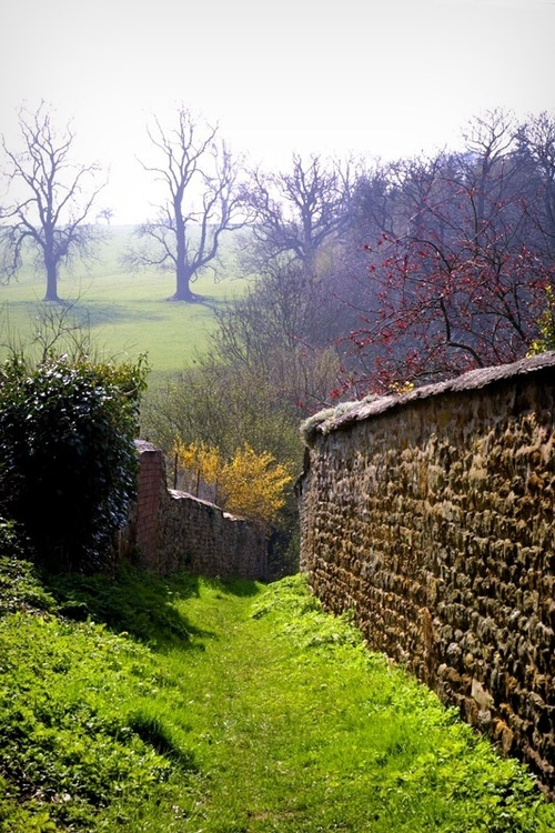 Green footpath: the English countryside close to Hallaton, by snunney.
