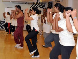 #Aerobics exercises reduce your fat and improves the  body #fitness