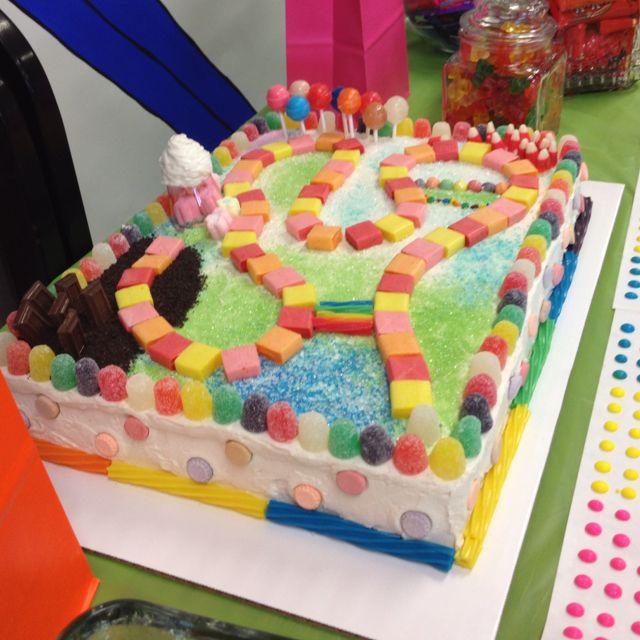 Candyland Birthday Creativecakery Pinterest Cake Ideas Birthday Cakes And Birthdays