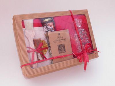 Vánoční dárkový balíček - medové pečení