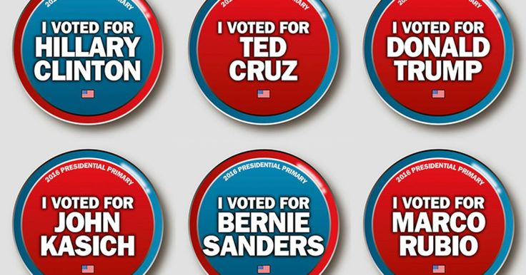 It's Michigan presidential primary day!  And we've got special buttons for you to share on Facebook to support your vote.