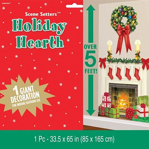 Holiday Hearth Plastic Scene Setters Add-Ons - 1.65m
