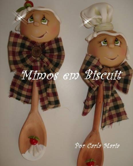 Gingerbread faces - super cute!