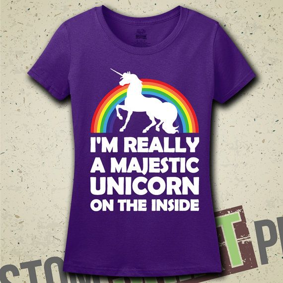 Hey, I found this really awesome Etsy listing at https://www.etsy.com/listing/184322494/im-really-a-unicorn-t-shirt-funny-humor