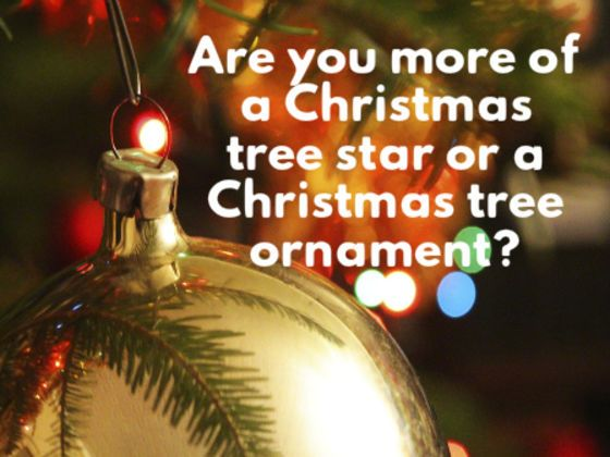 Take our quiz to figure out what Christmas decoration you identify with the most!