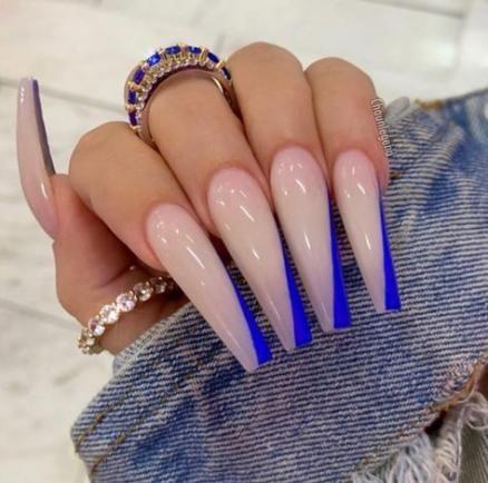 trendy cute acrylic nails coffin diamonds ideas in 2020