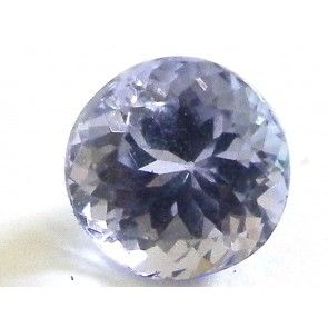 Tanzanite 1.535 ct round cut 6.6 mm