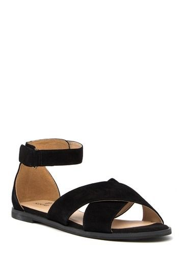 1f73baa3b105 Image of SUSINA Leia Suede Ankle Strap Sandal