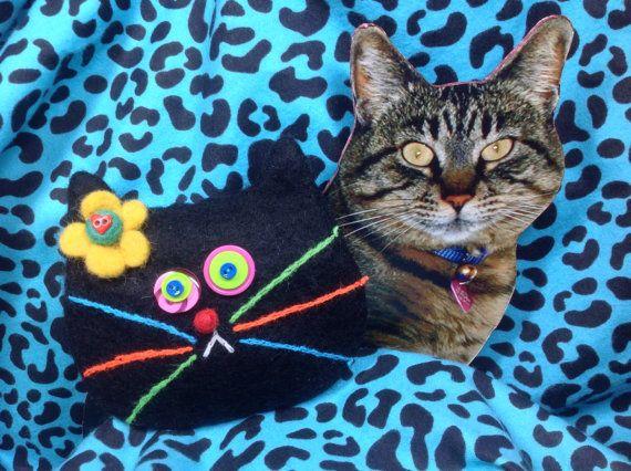 Black Cat Bag by showmealittlesign on Etsy, $15.00