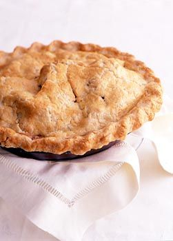"Apple pie is a sweet dessert often served ""a la mode,"" or with ice cream. Sometimes items are described as being ""as American as apple pie!"""