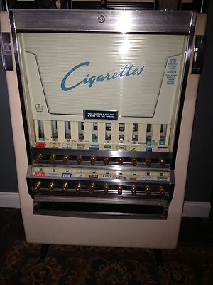 Antique Vintage Cigarette Tobacco Vending Machine Mint | eBay