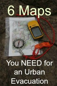What kind of maps do you need to function in an urban emergency situations. What if you are forced to to travel by road, off road and finally cross country?  | via www.TheSurvivalMom.com