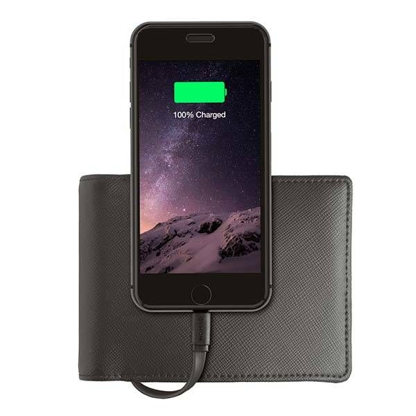 Nomad Wallet Boasts Built-in Power Bank with Lightning Cable