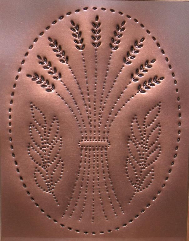 metal punch patterns   Pierced Tin Design LLC by Country Accents, Williamsport PA 17701