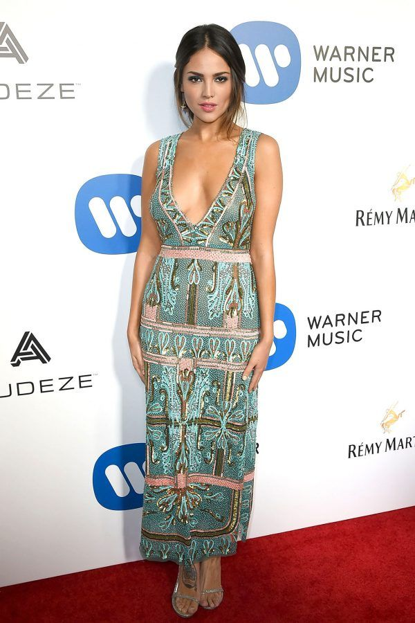 Elza Gonzalez in Rachel Zoe - At the Warner Music Group after-party