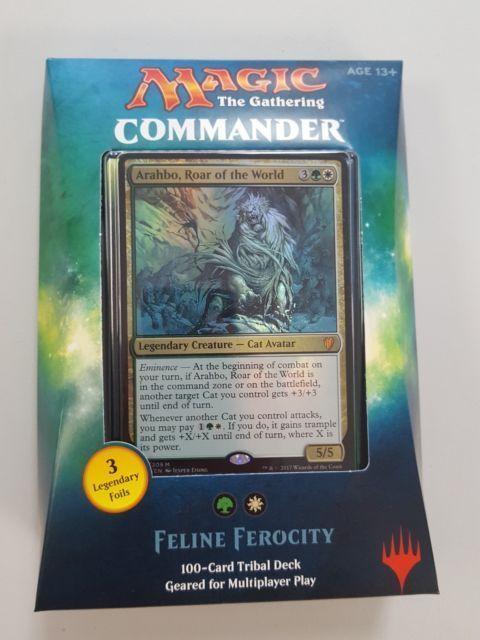 MTG Sealed Decks and Kits 183445: Mtg Commander 2017 Feline Ferocity