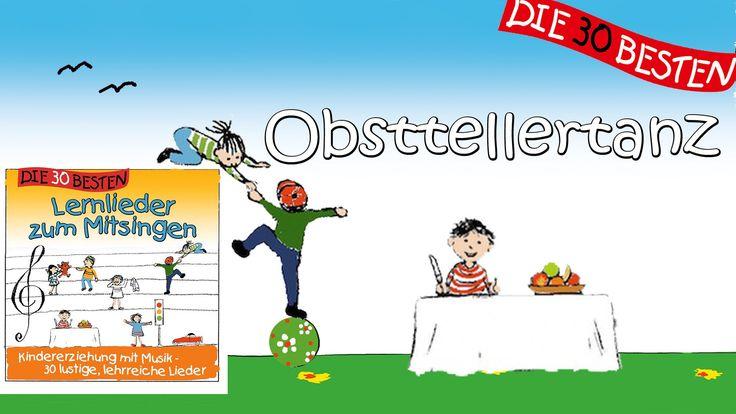 Obsttellertanz - Die besten Lernlieder zum Mitsingen || Kinderlieder