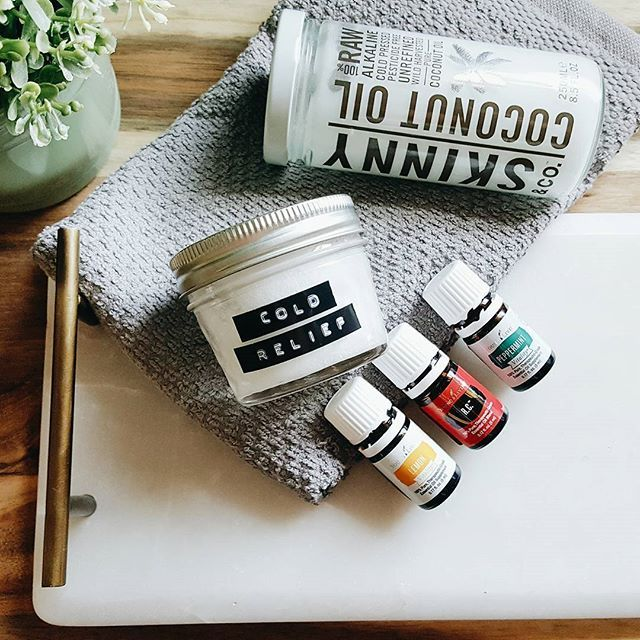 6 drops Peppermint + 6 drops R.C. + 6 drops Lemon mixed with 2 tbsp coconut oil. This chest rub works great for winter colds. Rub some on your chest before bed + some Theives [diluted  with coconut oil] on the bottom of your feet...and you'll wake up feeling so much better! #younglivingessentialoils #yleo #youngliving #essentialoils #peppermint #lemonessentialoil #rc #theives