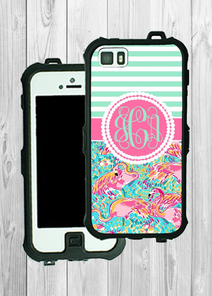 Monogram iPhone Case Personalized iPhone 5 5S 5C Lilly Pulitzer Inspired Monogrammed Phone Case iPhone 5S Water Resistant Heavy Duty #2236 by MonogramStyles on Etsy https://www.etsy.com/listing/196573343/monogram-iphone-case-personalized-iphone
