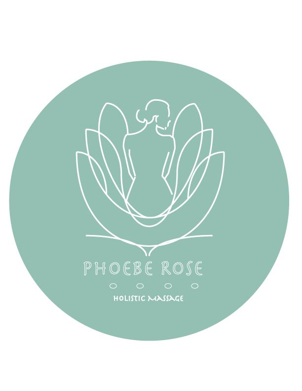 LOGO design for Phoebe Rose Holistic Massage ::: #logo #graphics #jessicarosheen