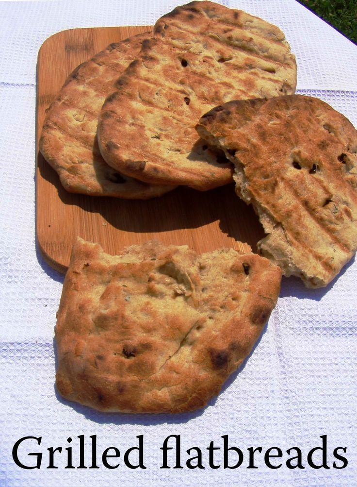 TynaTyna: Grilled flatbreads