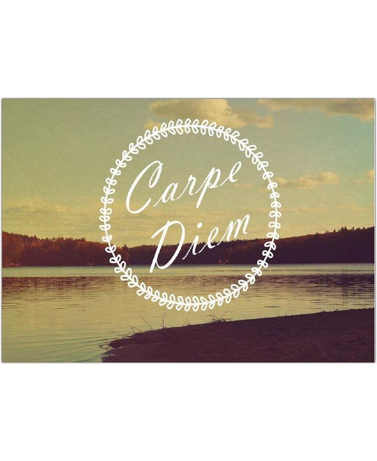 Carpe Diem VON Vintage Skies now on JUNIQE!