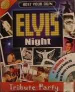 Host Your Own Elvis Night Party Game - New