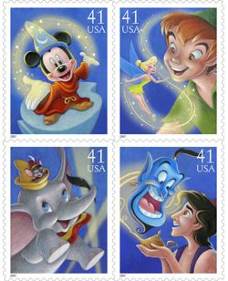 Disney Characters Come Alive On Postage Stamps | The Stamp ...