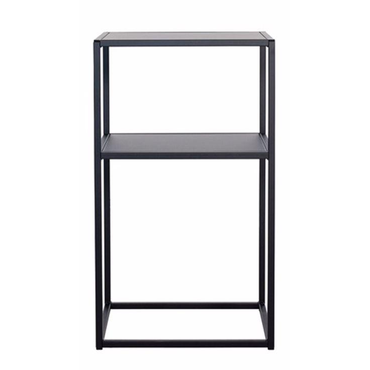 Domo nattbord S, svart – Domo – Kjøp møbler online på Room21.no