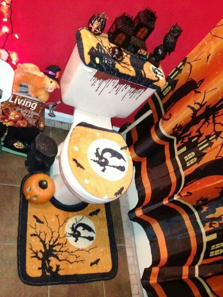 25 halloween bathroom decorations ideas
