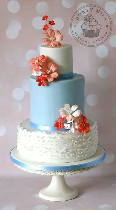 Autumn wedding cake by Mifa