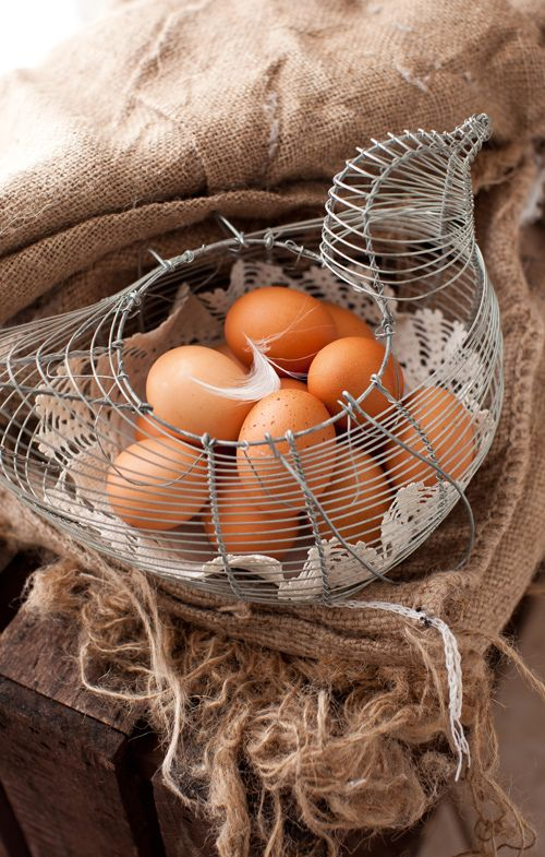 I have this egg crate now all i need are the chickens for the fresh eggs.