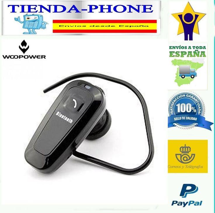 Auricular manos libres bluetooth conducir telefono samsung iPhone coche