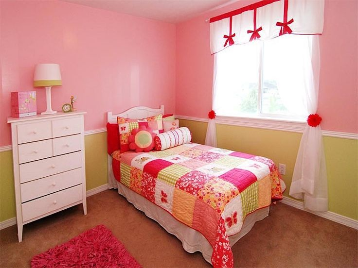 pink and green girl s bedroom kids bedroom decor 12845 | 39e94309a38955dbe909eee31340071a