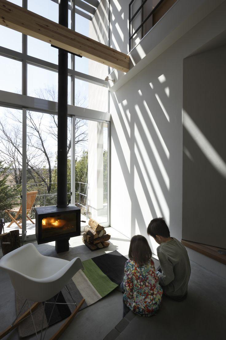 薪ストーブのある生活|注文住宅・自由設計・建築家|アーキッシュギャラリー(東京・名古屋・大阪)