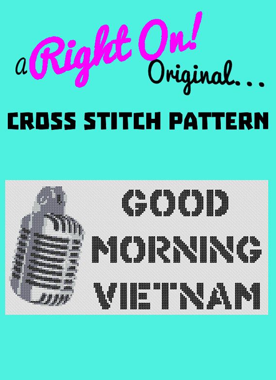 Good Morning Vietnam Writer : Best christmas cross stitch images on pinterest
