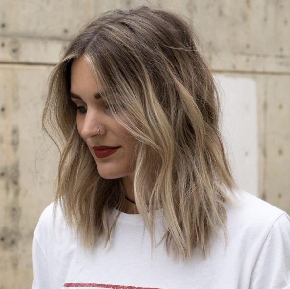 40 Low Maintenance Lob Haircuts For Women Medium Hair Styles Hair Styles Haircuts For Medium Length Hair