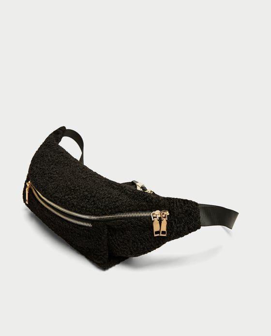 1ecdeed698 Image 4 of FAUX FUR BELT BAG from Zara Bag Sale, Fanny Pack, Crossbody