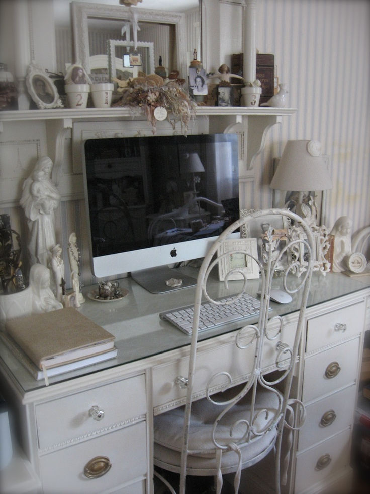 116 best new shabby chic girl cave home office decor ideas images